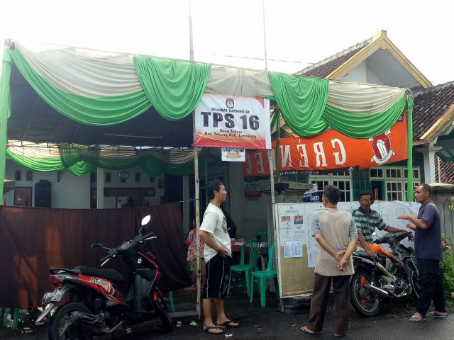 Pilpres 2019, Jokowi - Ma'ruf Menang Telak di Kecamatan Tekung