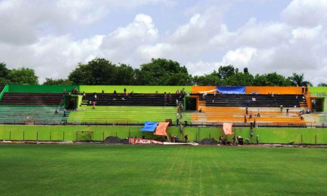 Diprotes Cak Thoriq, Pembangunan Tribun Timur Stadion Semeru Lumajang Molor