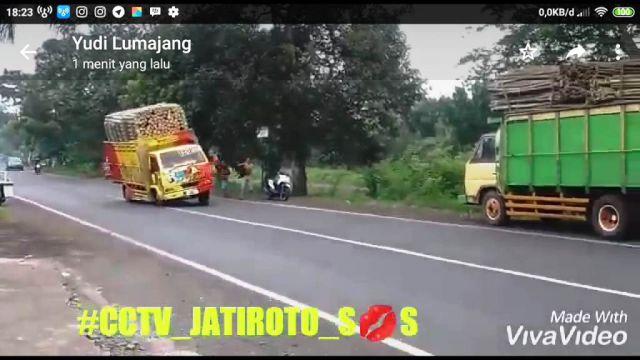 Truck Bergoyang Challenge Mulai Mewabah di Lumajang