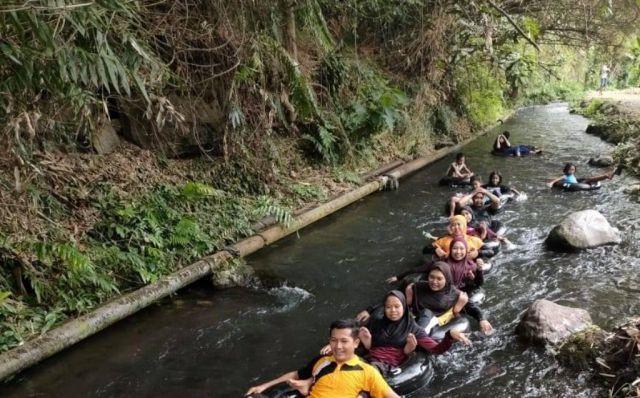 Serunya Wisata Tumpak Selo Petahunan Sajikan Main Air di Sungai