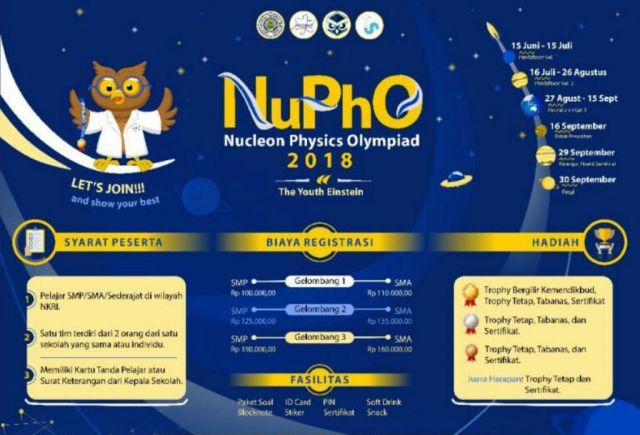 HMJ Fisika Nucleon UM Gelar Olimpiade Fisika se-Indonesia