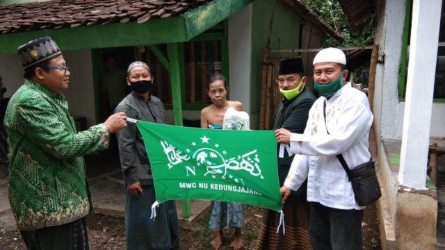 UP-ZIS MWC NU Kedungjajang Lumajang Tuntas Salurkan Zakat Fitrah
