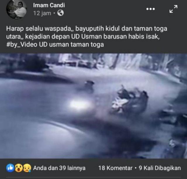Viral Video Begal di Toga Lumajang Polisi Belum Terima Laporan