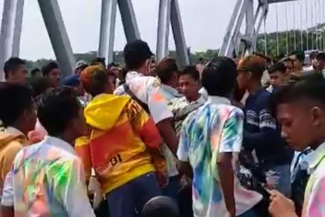 Viral..! Video Tawuran Pelajar di JLS Lumajang, Ini Kata Polisi