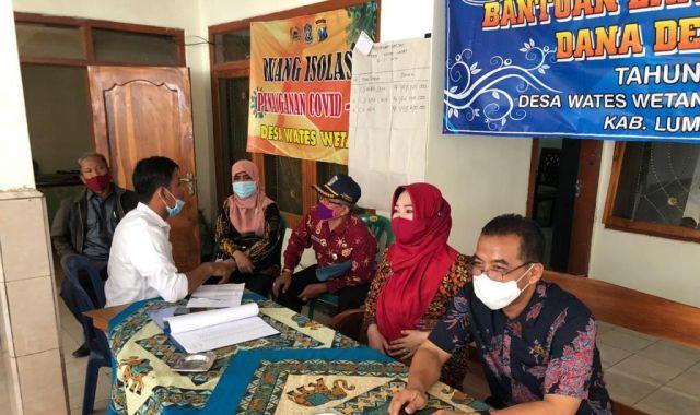 Tak Kunjung Dicairkan, Komisi A DPRD Sidak BLT DD Wates Wetan Lumajang