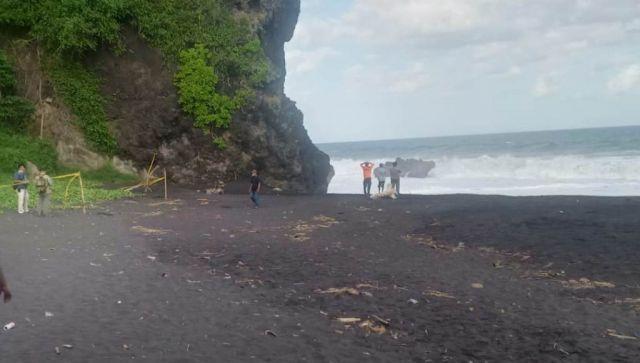 Bocah Tempursari Terseret Ombak di Pantai Watu Godek Lumajang