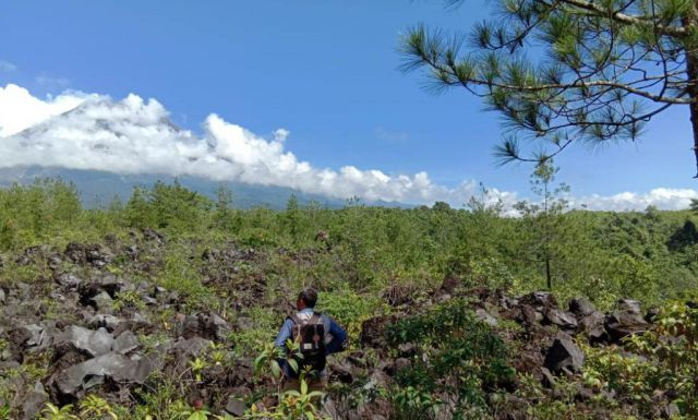 Watu Kobong Semeru Mulai Dikenalkan Sebagai Wisata Geologi