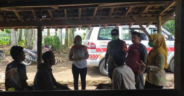 Ambulance Desa Wonorejo Lumajang Keliling Himbau Warga Waspada Corona