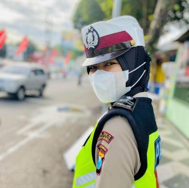 Briptu Yuke Polwan Satlantas Polres Lumajang Ukir Banyak Prestasi