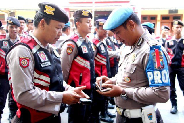 Besok..! 410 Personil Polisi Lumajang Amankan Aksi Damai AMPLI