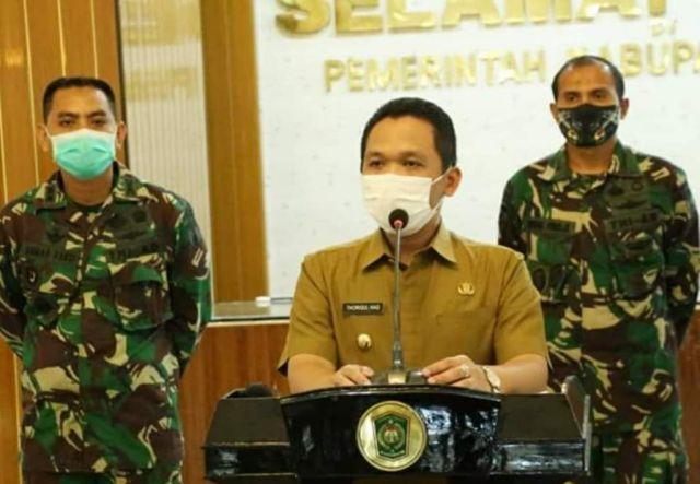 Tim Gabungan TNI-Polri Akan Razia Warga Lumajang Tak Pakai Masker
