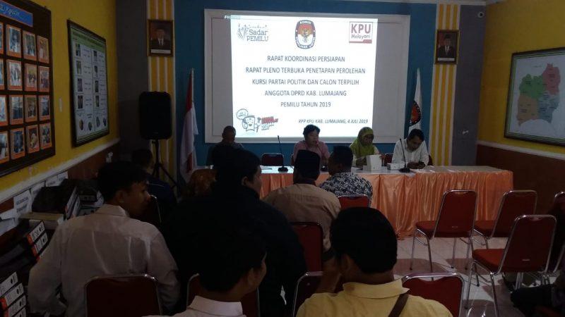 KPU Tunda Penetapan Caleg Terpilih DPRD Lumajang