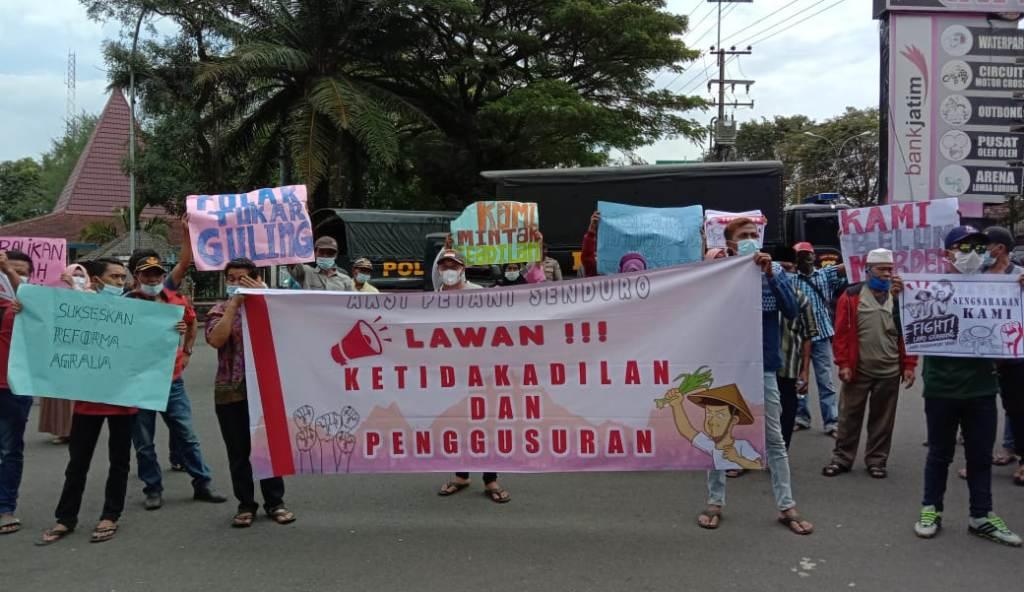 Petani Senduro Wadul DPRD Lumajang Soal Tukar Guling Lahan Garap