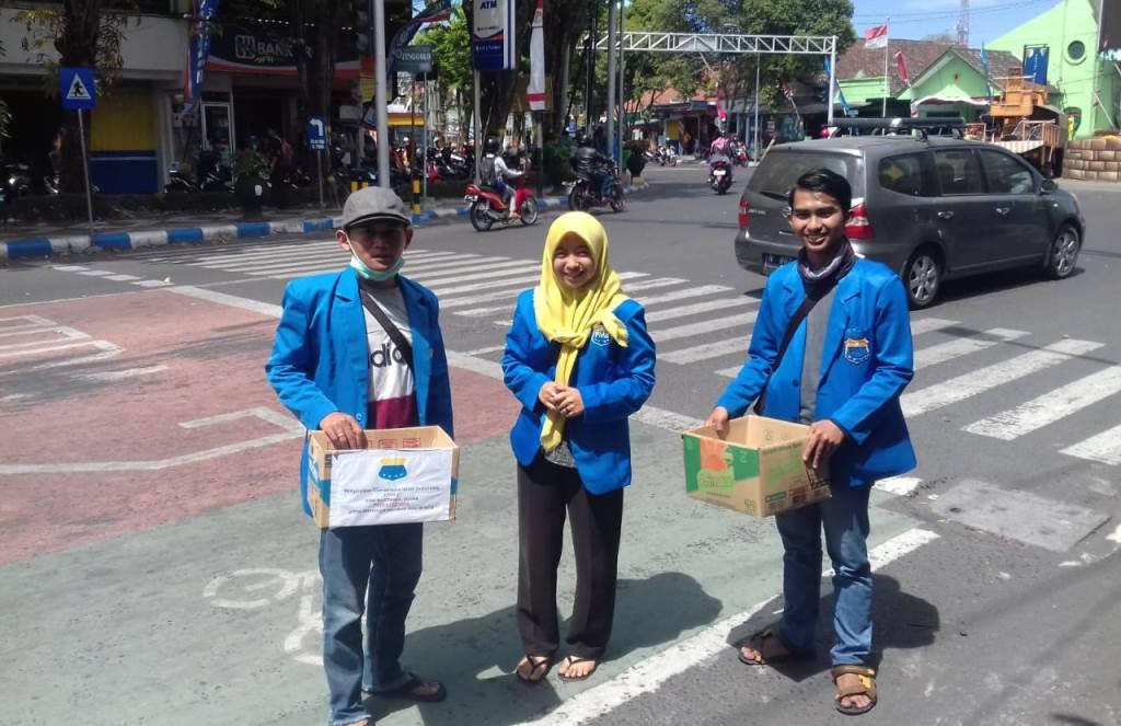 PMII Lumajang Galang Dana Untuk Korban Bencana Lombok