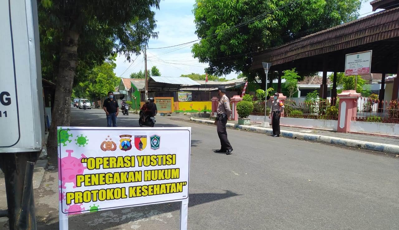 Polsek Kota Lumajang Rutin Gelar Operasi Yustisi