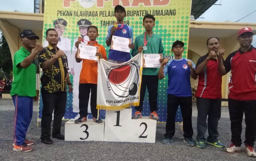 Ini Perolehan Medali Sementara POPKAB Lumajang 2018