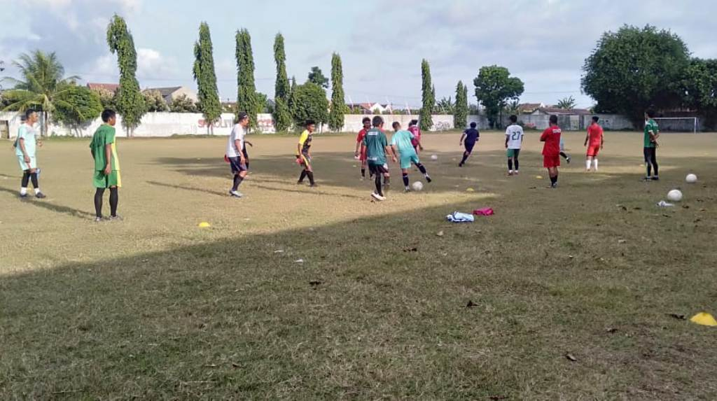 Skuad PSIL Lumajang Latihan Mandiri Persiapan Liga 3