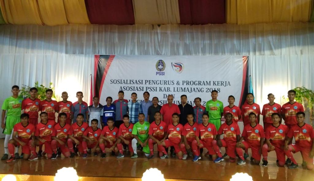 Siap Arungi Liga 3, Launching PSIL Lumajang Berlangsung Meriah