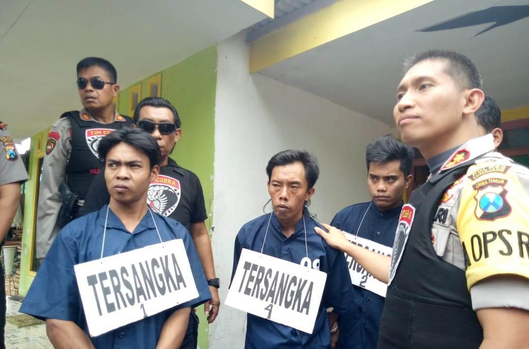 Komplotan Rampok di Rumah Tante Tiara Gucialit Dibekuk Tim Cobra