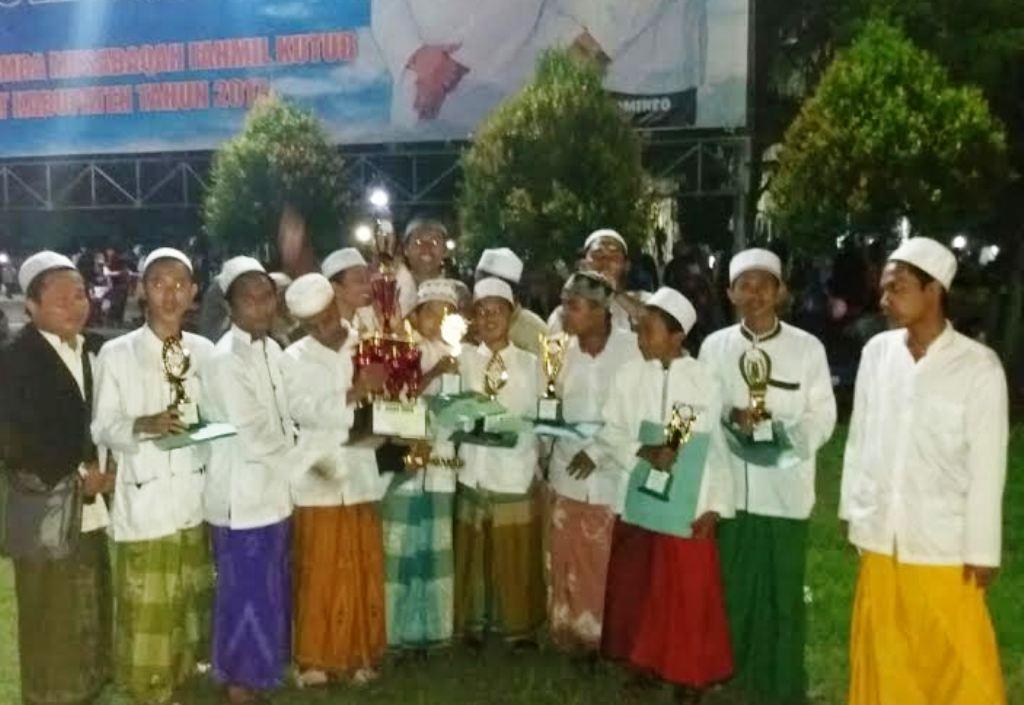 Selamat, Ponpes Miful Bakid Juara Umum Musabaqoh Fahmil Kutub