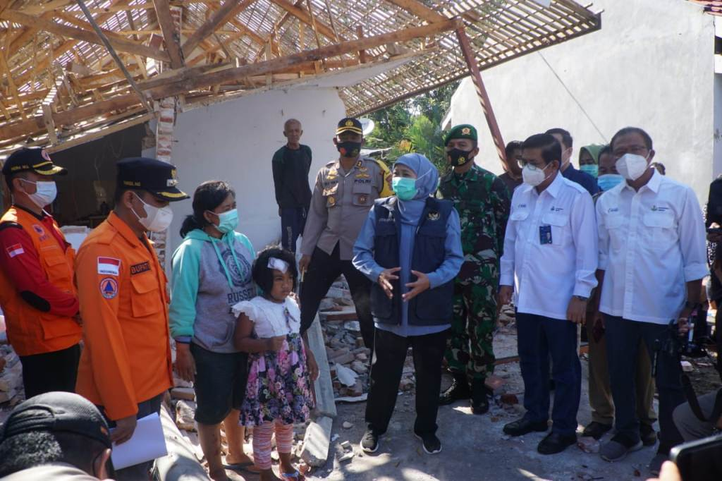 Satgas Bencana BUMN Jatim Susun 6 Action Plan Korban Gempa Lumajang