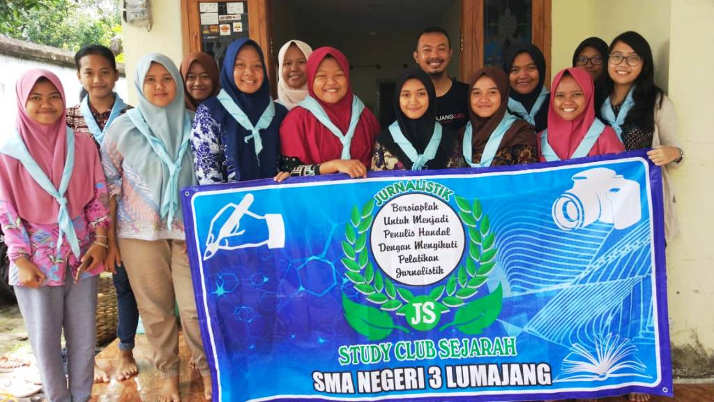 SCS SMAGA 3 Kali Gandeng L1 Gelar pelatihan Jurnalistik
