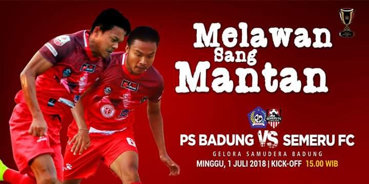 Piala Indonesia, Semeru FC vs PS Badung di Gelora Samudera-Bali