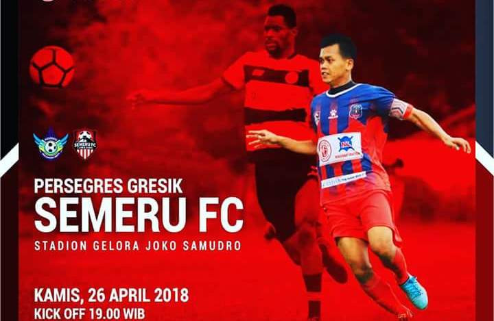 Nanti Malam, Semeru FC Lawan Persegres Gresik di Stadion Joko Samudro