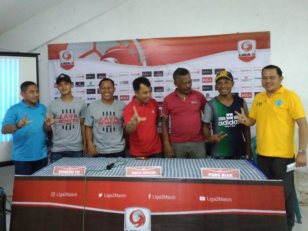 Besok, Semeru FC Lawan PSBS Biak, Yuk..! Ramaikan Tribun Stadion