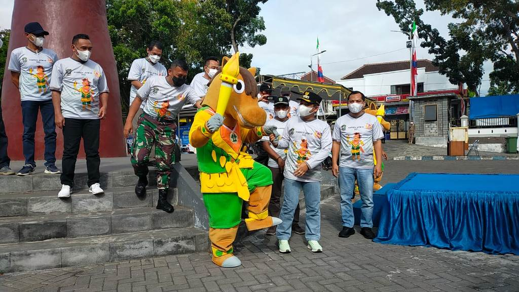 Bupati Lumajang Launching Sirancak Maskot Porprov Jatim VII 2022