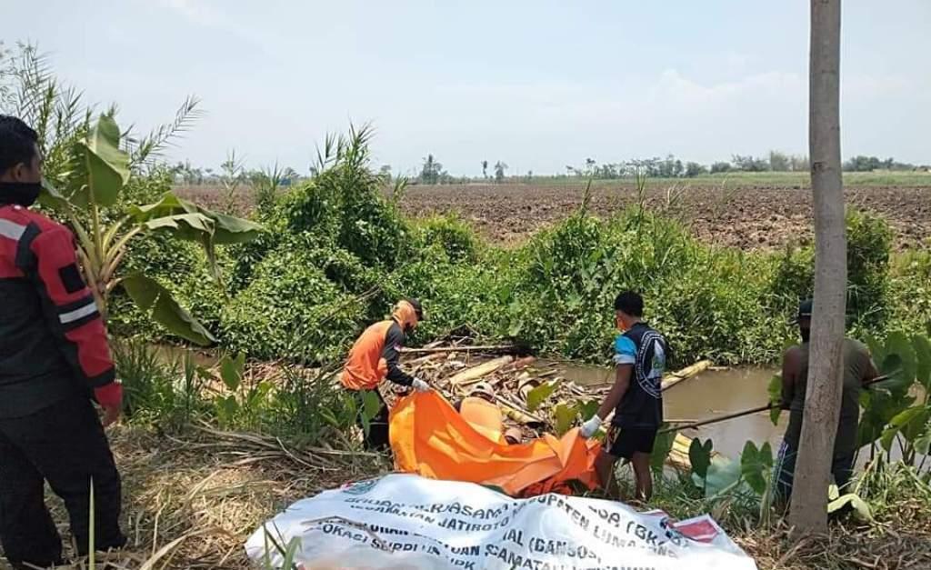 Sesosok Mayat Perempuan Mengapung di Sungai Genitri Rowokangkung