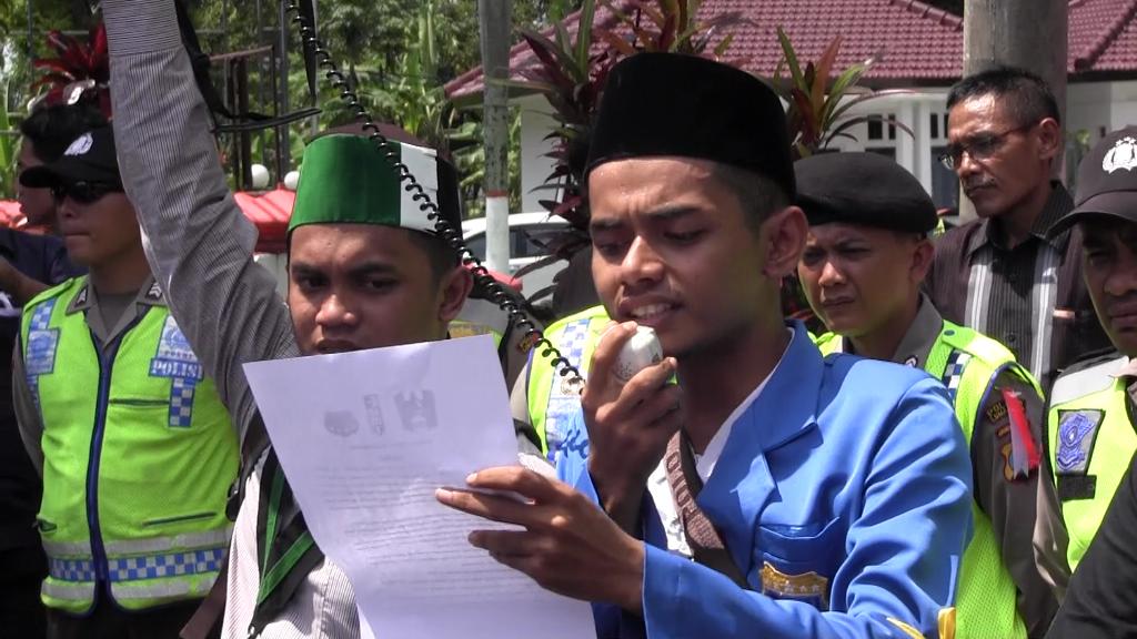 Demo UU MD3, Mahasiswa Mengaku Tak Kenal DPR RI Dapil Lumajang-Jember