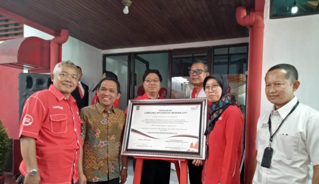Kota Lumajang Jadi Modern Boardband Telkom Indonesia