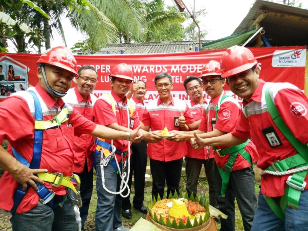 Modernisasi Jaringan, Telkom Lumajang Ganti Tembaga dengan Fiber Optik