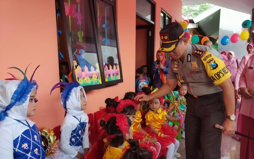 Dilengkapi Taman Lalulintas, TK Bhayangkari Lumajang Siap Cetak Siswa Disiplin