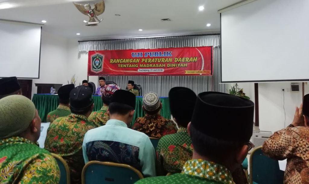 Selangkah Lagi, Lumajang Miliki Perda Madrasah Diniyah