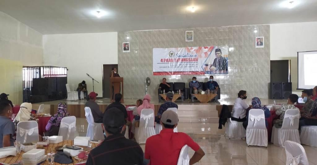 Sosialisasi 4 Pilar Umar Bashor MPR RI Ajak Jaga Pancasila dan NKRI