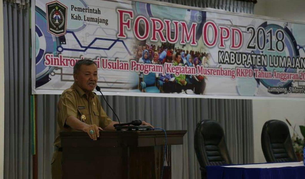 Soal Surat Ombudsman, Ini Jawaban Plt Bupati Lumajang
