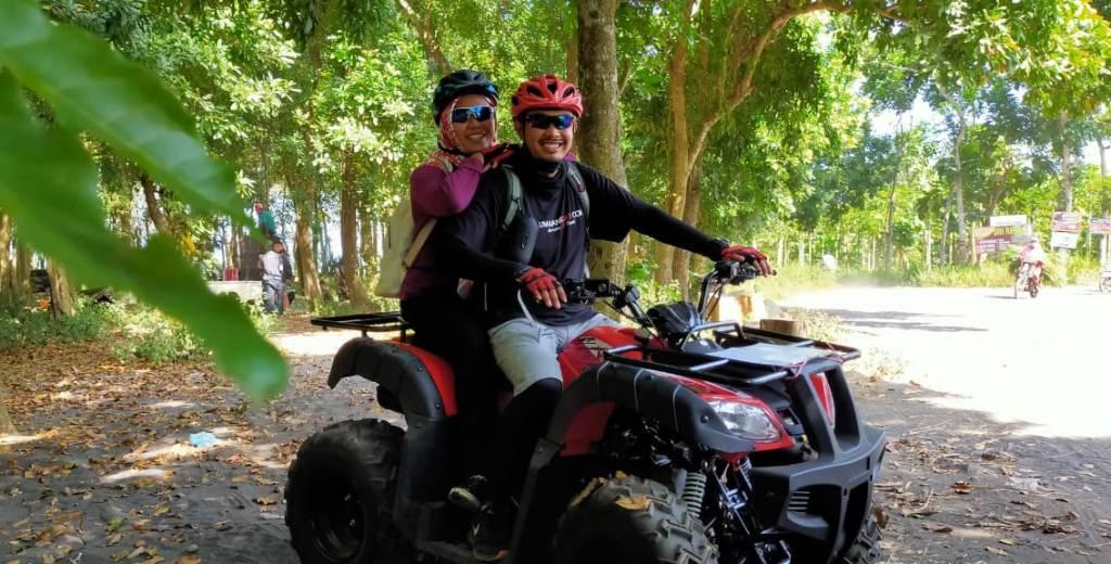 Yuk..! Nikmati Sensasi Naik ATV di Hutan Kesambi Watu Pecak Lumajang