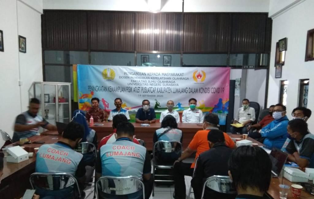 KONI Lumajang Gelar Webinar Bersama Universitas Negeri Surabaya